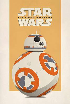 Star Wars - The Force Awakens Print by Farhad Tamim