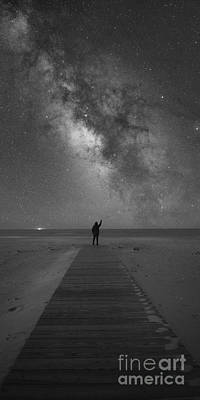 Base Path Photograph - Stargazer by Michael Ver Sprill