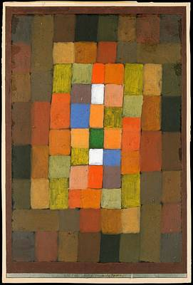 Gradations Painting - Static Dynamic Gradation by Paul Klee