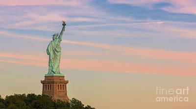 Liberte Photograph - Statue Liberty by Henk Meijer Photography