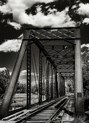 Steel Bridge Print by Ryan Crane