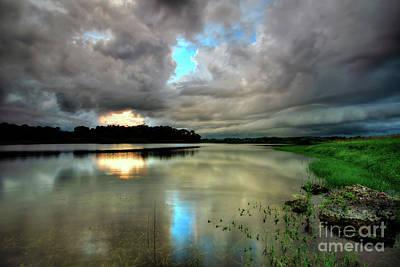 Photograph - Storm Clouds by Rick Mann