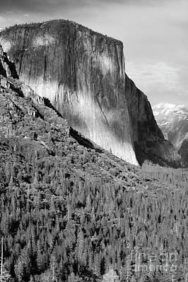 Photograph - Storm Over El Capitan by Sandra Bronstein