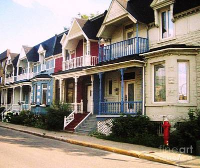 Streets Of Montreal Photograph - Streets Of Montreal by Reb Frost