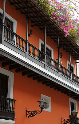 Bougainvilla Photograph - Streets Of Old San Juan by Stephen Anderson