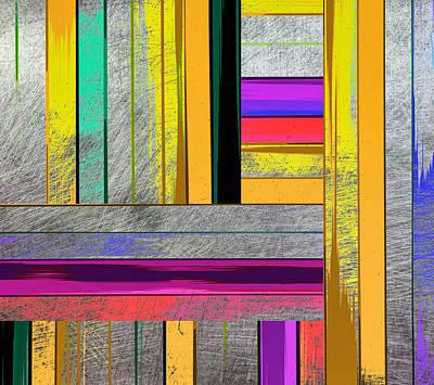 Stripes - Abstract Art Print by Ann Powell