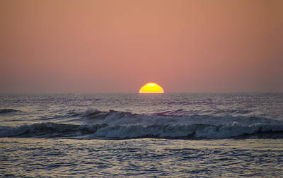 Sunset Photograph - Sunrise At The Shore by Bill Cannon