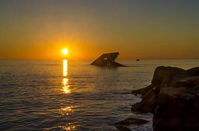 Sunset Photograph - Sunset Beach by Bill Cannon
