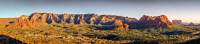 Road Photograph - Sunset In Sedona by Alexey Stiop
