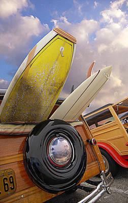 Classic Woodie Digital Art - Surf Toys by Ron Regalado