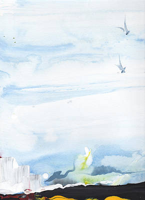 Survival Print by Rula Bashi