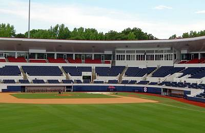 Base Path Photograph - Swayze Field At Ole Miss by Terry Cobb