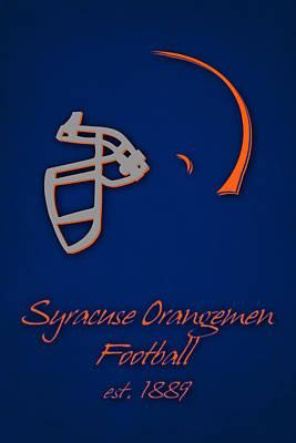 Syracuse Orangemen Print by Joe Hamilton