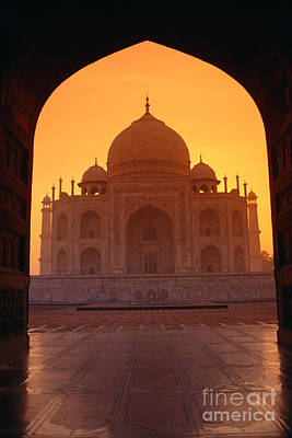 Taj Mahal View Print by Gloria & Richard Maschmeyer - Printscapes