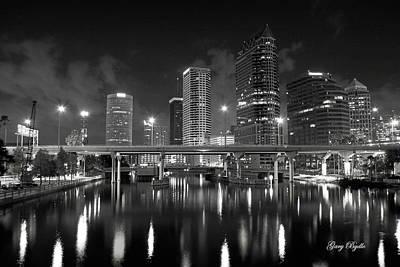 Tampa Skyline Photograph - Tampa Skyline by Gary Bydlo