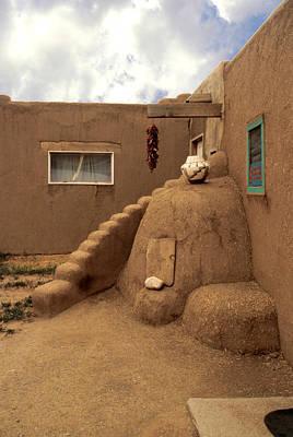 Taos Pueblo Print by Jerry McElroy
