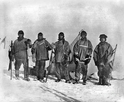 Robertson Painting - Terra Nova Expedition by Granger