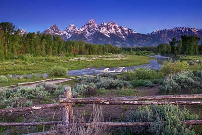 Wyoming Photograph - Teton Countryside by Andrew Soundarajan