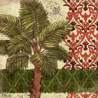 Palmettos Painting - Thai Palm II by Paul Brent