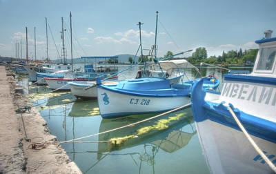 The Boats Of The Black Sea In Bulgaria Original by Design Trust