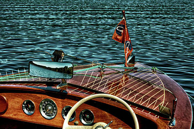 Cri Photograph - The Classic 1958 Chris Craft by David Patterson