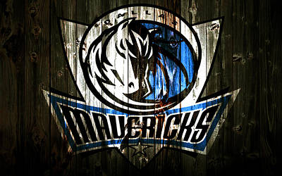 The Dallas Mavericks 2c Print by Brian Reaves