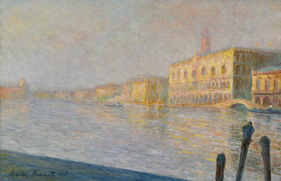 Painting - The Ducal Palace by Claude Monet