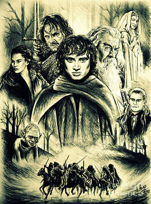 The Fellowship Print by Andrew Read