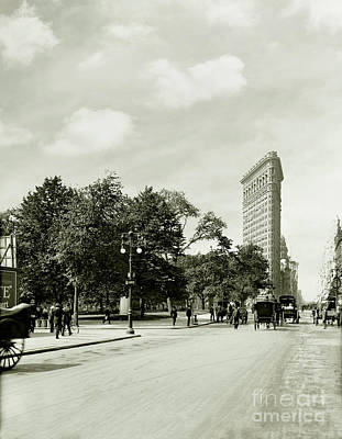 The Flatiron Building Print by Jon Neidert