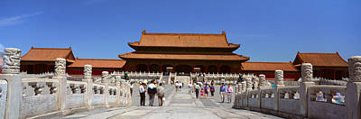 The Forbidden City - Tai He Men Gate Print by Panoramic Images