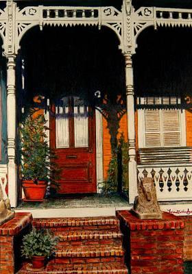 The Front Porch Print by Lois Guthridge