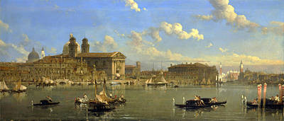 David Roberts Painting - The Giudecca. Venice by David Roberts
