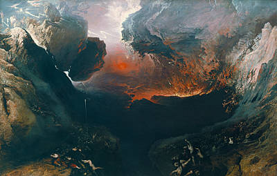 The Great Day Of His Wrath Print by John Martin