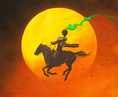 The Headless Horseman Original by Stacy Drum