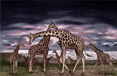 The Herd Print by Peter Piatt