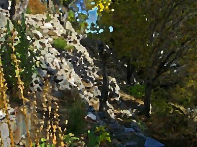 The Hidden Garden Print by Lenore Senior