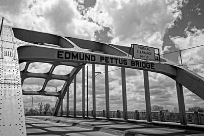 The Historic Edmund Pettus Bridge - Selma Alabama Print by Mountain Dreams