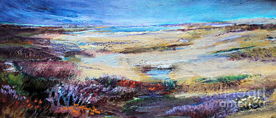 The Inlet Print by Diane Ursin