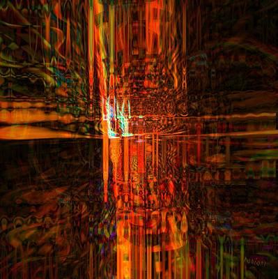 Yesayah Digital Art - The Light by Fania Simon