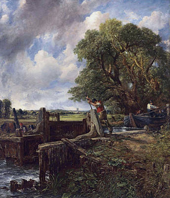 English Painting - The Lock by John Constable
