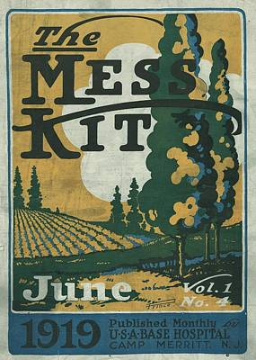 Poster Painting - The Mess Kit Vol by MotionAge Designs