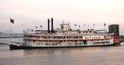 Eye4life Photograph - The Natchez by Alicia Morales