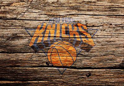 The New York Knicks 1b Print by Brian Reaves