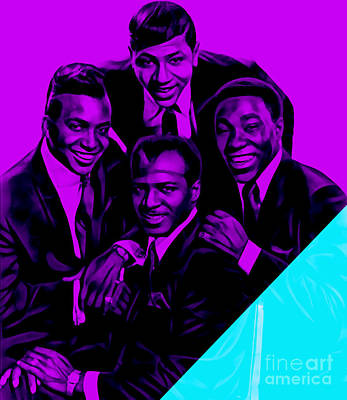 Soul Mixed Media - The Ojays Collection by Marvin Blaine