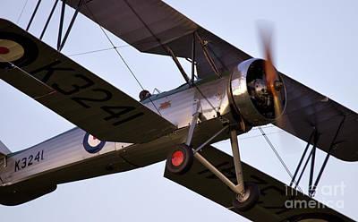 The Old Aircraft Print by Angel  Tarantella