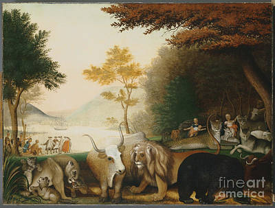 The Peaceable Kingdom  Print by Celestial Images