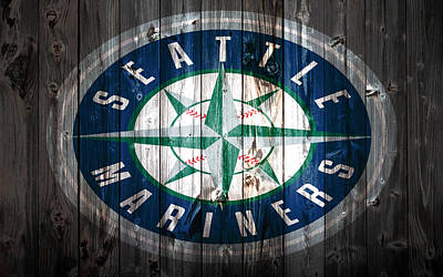 The Seattle Mariners 1a Print by Brian Reaves