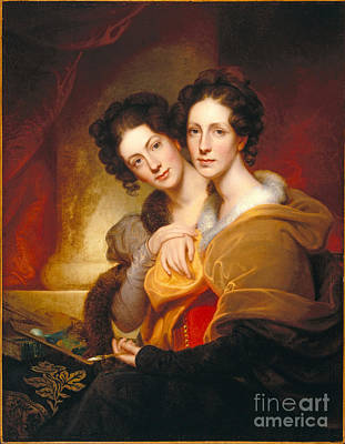 Women Painting - The Sisters by Celestial Images