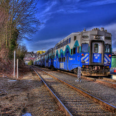 Train Photograph - The Sounder by David Patterson