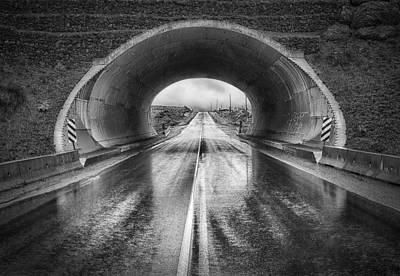 Kamloops Photograph - The Tunnel by Theresa Tahara